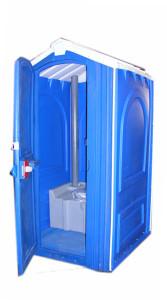Биотуалетная кабинка эконом модель
