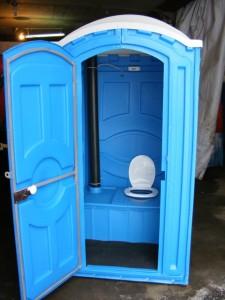 биотуалетная кабинка вид внутри