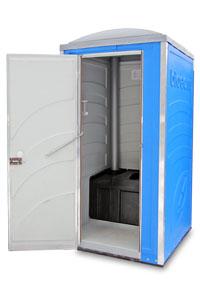 модель туалетной кабины Эколайт Зимний