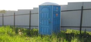 туалетная кабинка класса Стандарт - самое оптимальное решение
