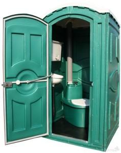 мобильная туалетная кабинка Эконом