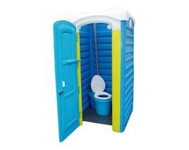 Туалетная кабина  на яму Евростандарт