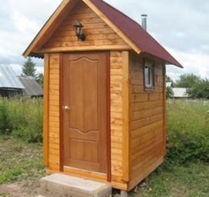 деревянные туалеты, виды их