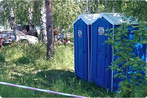 выбираем лучшую туалетную кабинку  для дачи