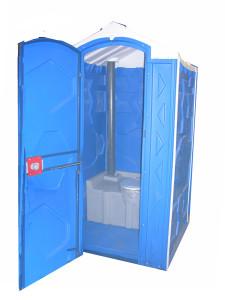 Туалетная пластиковая кабина марки Экостандарт