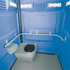 Модель туалетной кабины для инвалидов