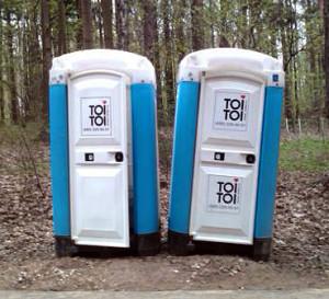 Туалетная кабина ToiToi