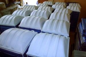 Крышки для мобильных туалетных кабин производства Росиия