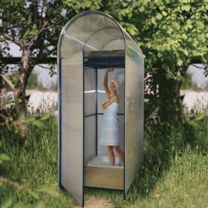 садовый пластиковый душ