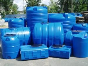 Пластиковые емкости для сточных вод