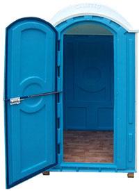 пластиковые туалетные кабинки для дачи