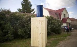 Выбираем с умом дачные душевые кабины с туалетом