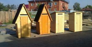 Как подобрать туалет деревянный для дачи