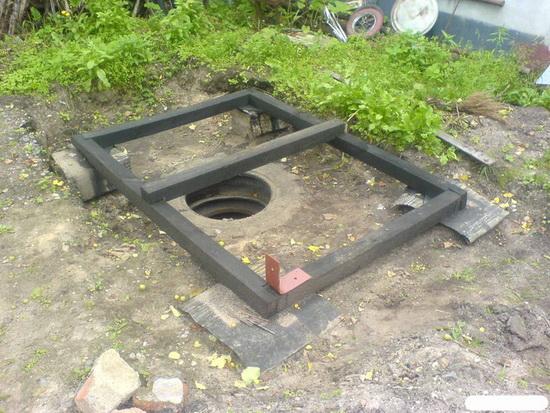 Как сделать выгребную яму видео фото 220