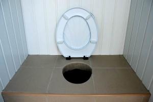 дачный вариат туалет ведро