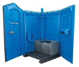Конструкция изделия туалетной кабинки для дачного участка