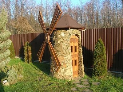 Деревенский туалет построить своими руками 77