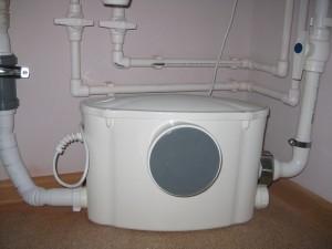 Канализационная насосная станция с измельчителем