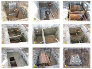 Этапы строителдьства