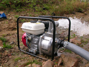 Мотопомпа для канализации