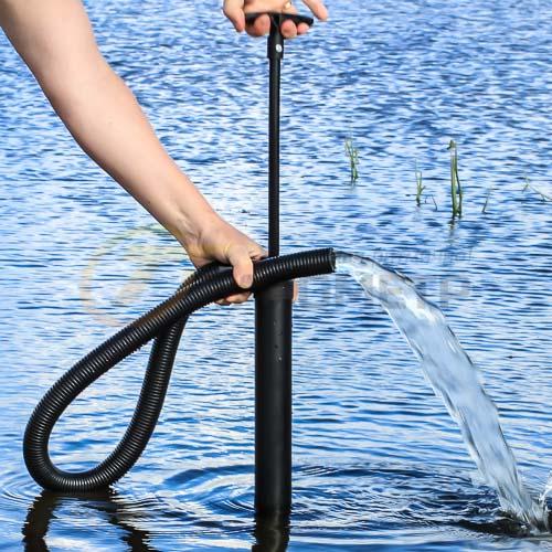 Лодочная помпа для откачки воды своими руками