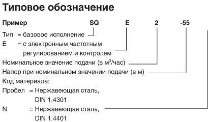 SQ -расшифровка