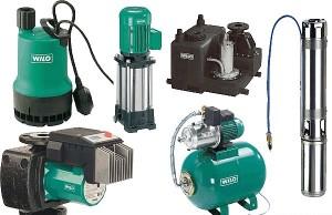 Различные виды насосного оборудования