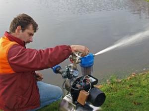 Водяная мотопомпа своими руками